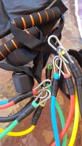 Elastice pentru antrenament FLEX cu rezistențe diferite (5x) photo review