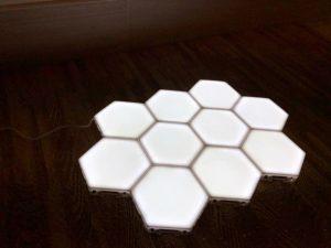 Set de șase lumini LED magnetice HOME photo review
