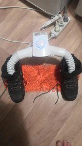 Umeraș și uscător electric portabil AIRFEN photo review