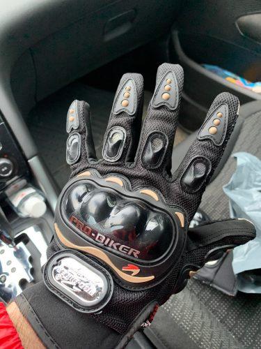PROXBIKE Mănuși de protecție tactile de înaltă calitate, fabricate din microfibră photo review