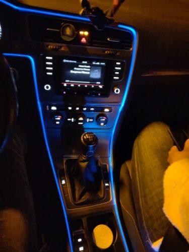 AUTOLED Benzi rezistente la apă cu LED pentru iluminarea bordului mașinii photo review