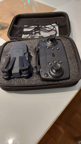 Nouă mini dronă cu cameră XDRON HD photo review